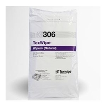 TexWipe® TX306 Dry Cotton Cleanroom Wipers, Non-Sterile