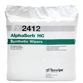 Picture of AlphaSorb® HC TX2412 Dry Cleanroom Wipers, Non-Sterile