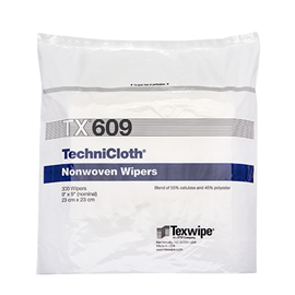 Picture of TechniCloth® TX609 Nonwoven Dry Cleanroom Wipers, Non-Sterile