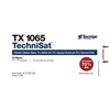 Picture of TechniSat® TX1065 Pre-Wetted Nonwoven Cleanroom Wipers, Non-Sterile