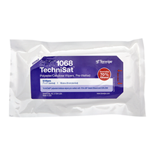 Sterile TechniSat® STX1068 Pre-Wetted Nonwoven Cleanroom Wipers