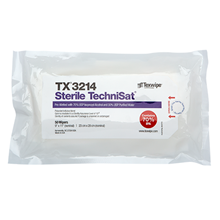 Sterile TechniSat® TX3214 Pre-Wetted Nonwoven Cleanroom Wipers