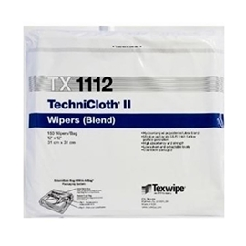 Picture of TechniCloth® II TX1112 Dry Nonwoven Clearoom Wipers, Non-Sterile