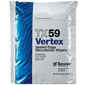 Vertex® Microdenier Dry Cleanroom Wipers, Non-Sterile