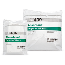 Picture of Absorbond® Dry Nonwoven Cleanroom Wipers, Non-Sterile