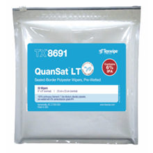 Picture of Vectra® QuanSat® LT TX8691 Pre-Wetted Cleanroom Wipers, Non-Sterile