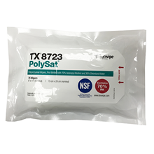 PolySat® TX8723 Pre-wetted Cleanroom Wipers, Non-Sterile, NSF-certified