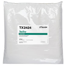 Picture of TexTra™ TX2424 Dry Cleanroom Wipers, Non-Sterile