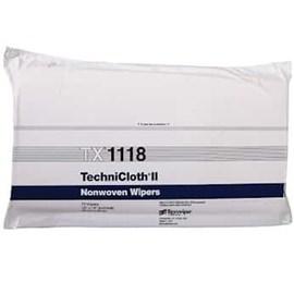 TechniCloth® II TX1118 Dry Nonwoven Cleanroom Wipers, Non-Sterile