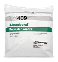 Absorbond® TX409 Dry Nonwoven Cleanroom Wipers, Non-Sterile