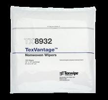 TexVantage™ TX8932 Dry Nonwoven Cleanroom Wipers, Non-Sterile