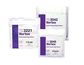 Vertex® Dry Cleanroom Wipers, Sterile