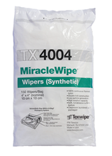 MiracleWipe® TX4004 Dry Nylon Cleanroom Wipers, Non-Sterile