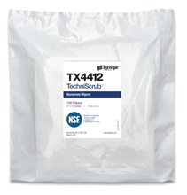 Picture of TechniScrub TX4412 Dry Cleanroom Wipers, Non-Sterile