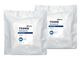 TechniScrub™ Dry Cleanroom Nonwoven Wipers, NSF-certified
