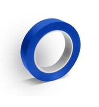 """LDPE / Rubber Blue Cleanroom Adhesive Tape 1"""" Width"""