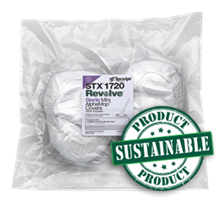 REVOLVE Mini AlphaMop™ Sustainable Integrated Covers/Pads, STERILE